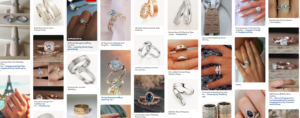 Pinterest wedding ring board